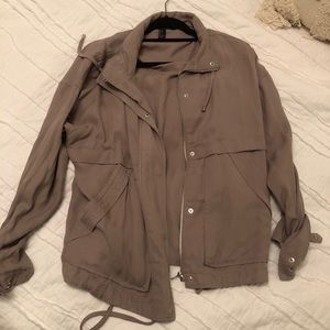 Lightweight gray/tan jacket